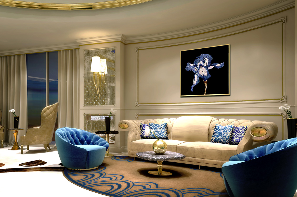 Tao designs residential project private palace dubai for Indoor design dubai
