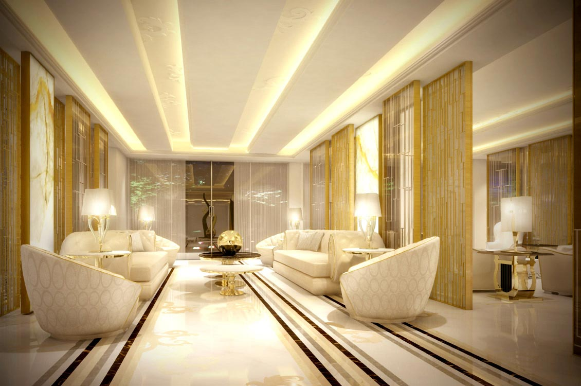 Tao designs i contemporary residential interiors for Villa interior design dubai