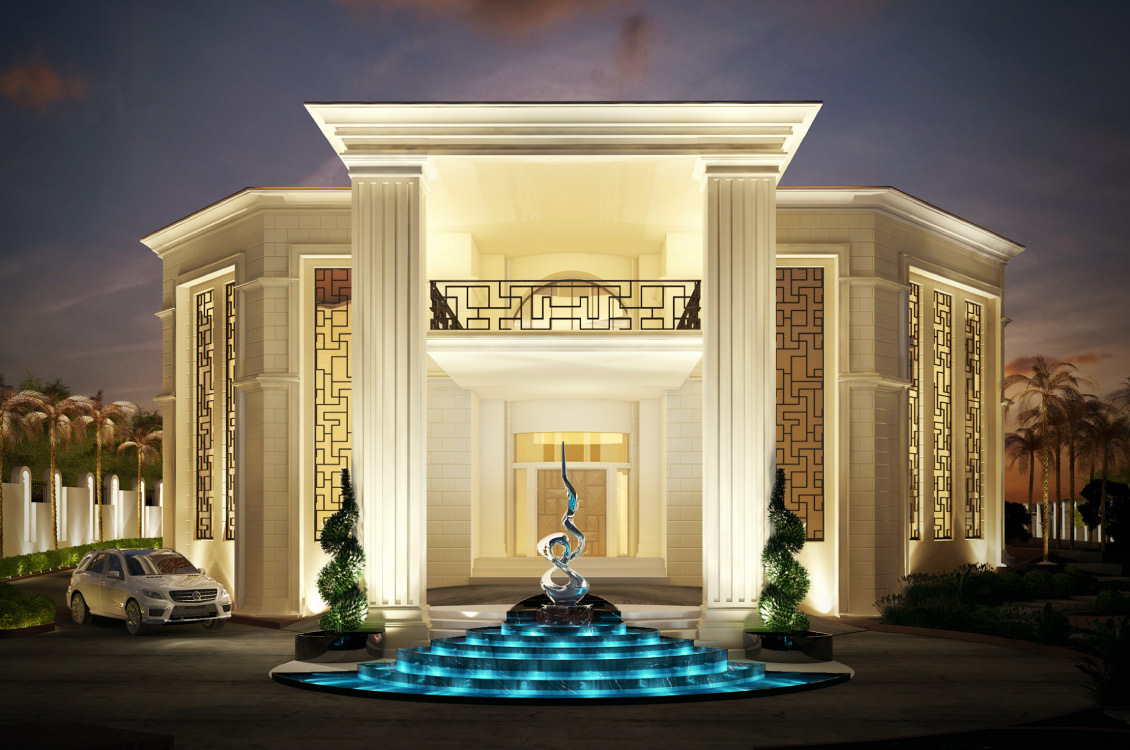 Tao designs i architecture interior design in dubai uae for Villa architect